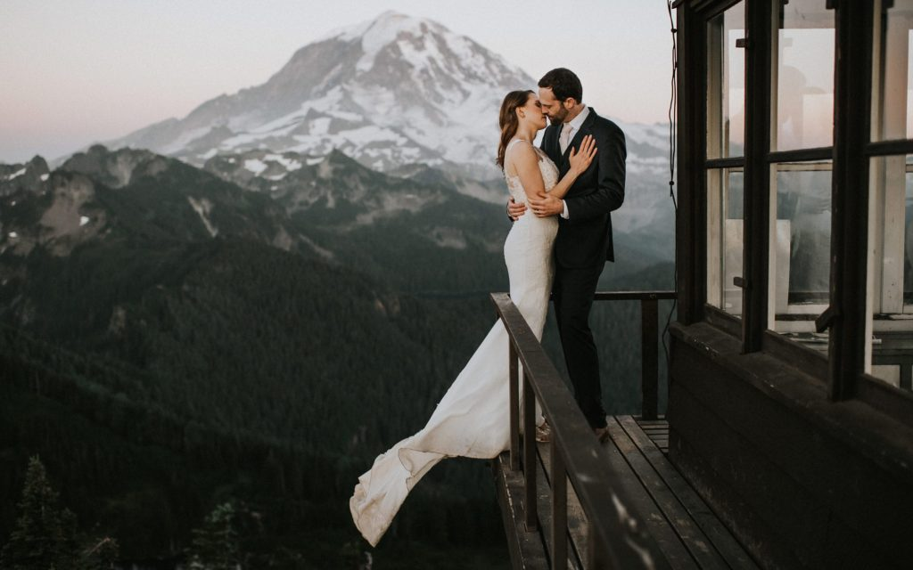 mount rainier elopement photography