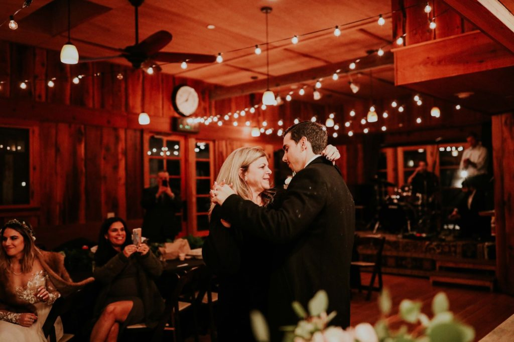 groom's first dance with his mom