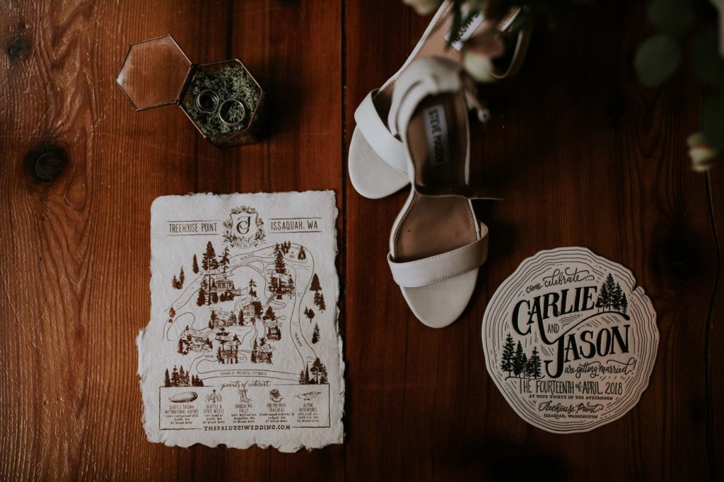 treehouse point wedding details