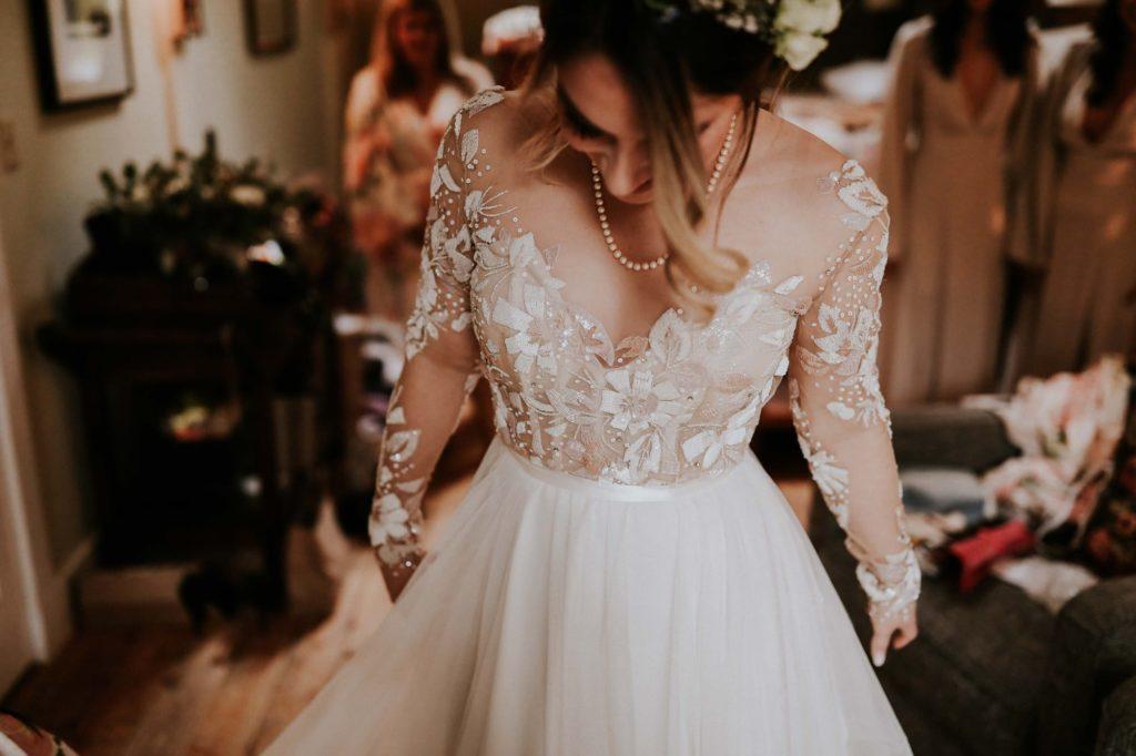 bohemian hayley paige bride