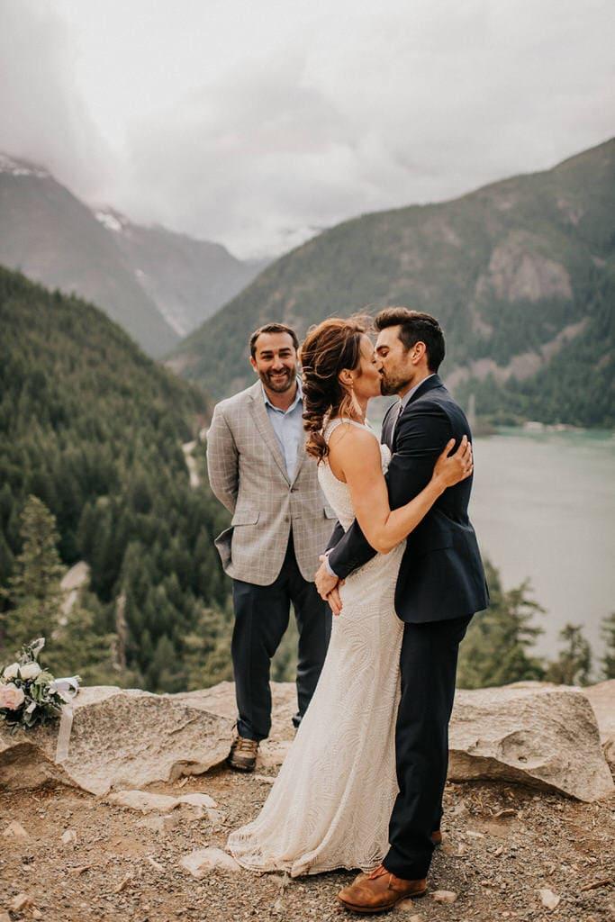 first kiss at diablo lake