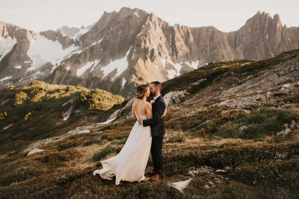 North Cascades Adventure Wedding
