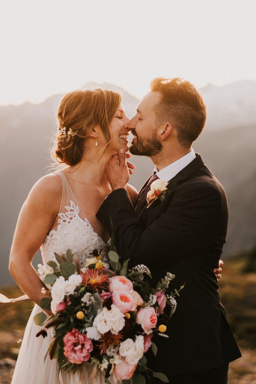 Adventure wedding floral design