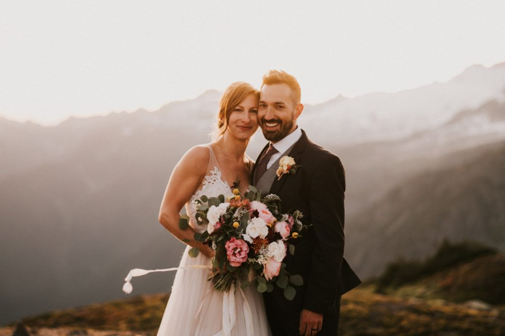 Washington mountain elopement