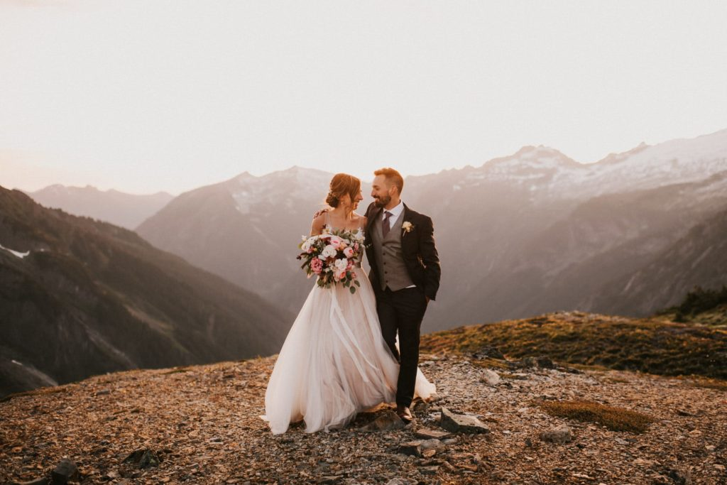 North Cascades Adventure Wedding Portraits