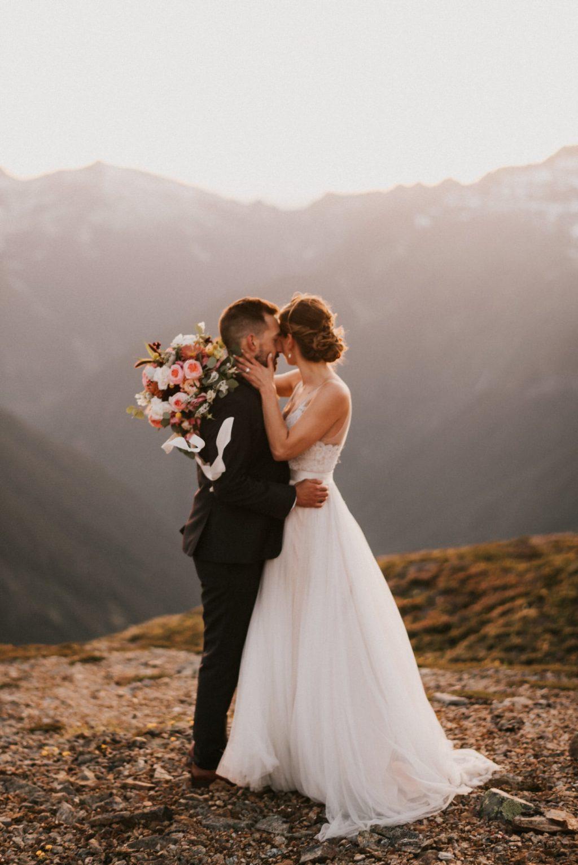 North Cascades Adventure Session wedding portraits