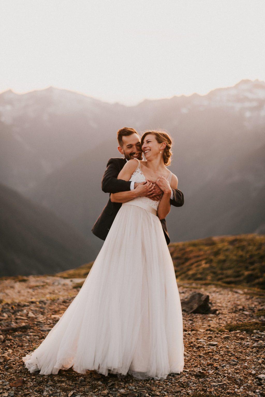 Post Elopement Wedding portraits