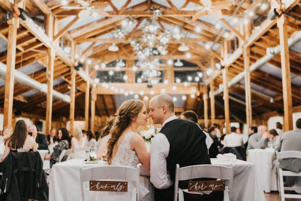 interior photo of kiana lodge wedding venue