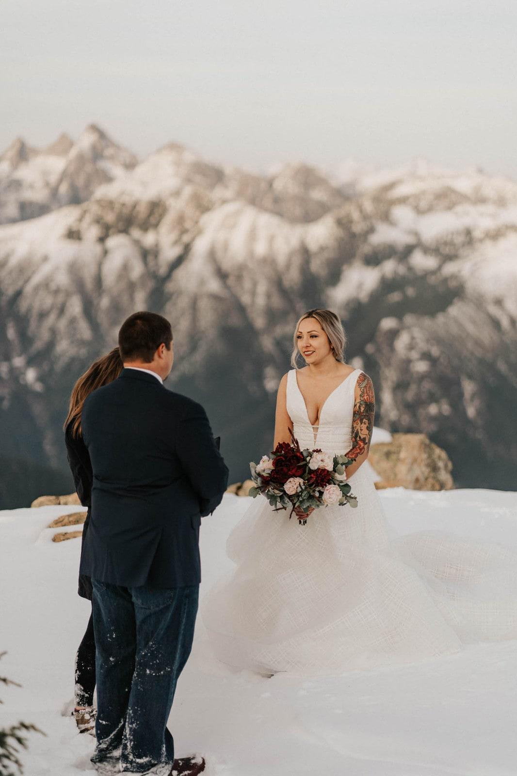 mount baker elopement