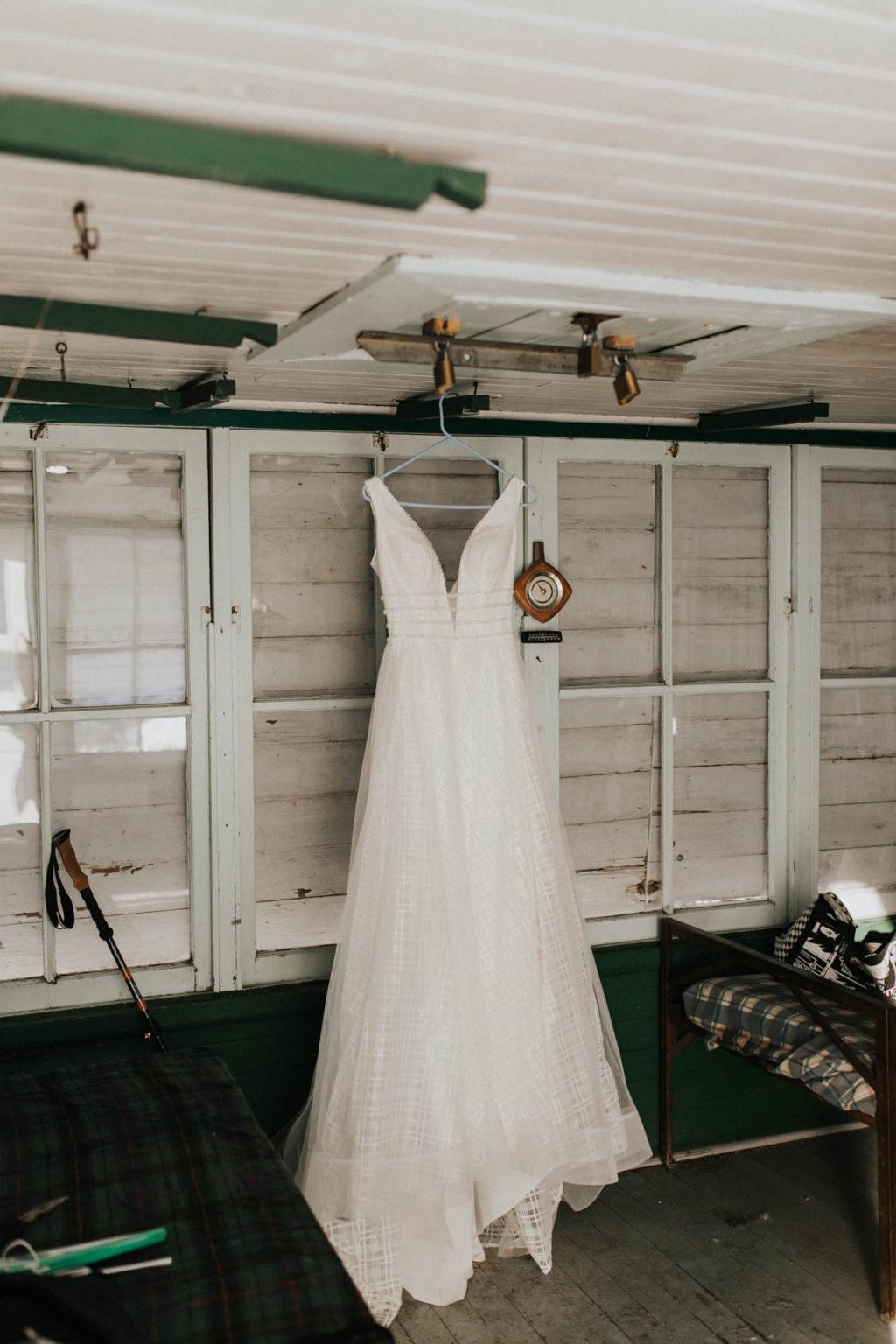 dress hanging